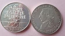 1 PIECE 100 FRANCS ARGENT LAFAYETTE 1987 TTB