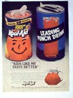 1978 Magazine Advertisement Page Tropical Punch Kool-Aid Kids Drink Can Nice Ad