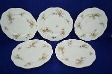 """Tressemanes & Vogt T&V Limoges c:1901 (5) Dinner Plates 9 3/4"""""""