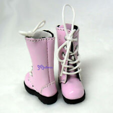 "Mimiwoo 12"" Blythe Pullip Momoko Pure Neemo Obitsu 1/6 bjd Shoes Long Boots PINK"