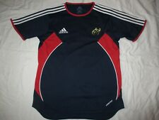 MUNSTER HOME ADIDAS RUGBY TRAINING SHIRT. SMALL.
