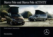 Preisliste Mercedes Marco Polo Activity 1.9.15 Preise Reisemobil Wohnmobil 2015