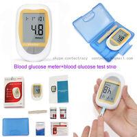 Misuratore di glucosio nel sangue, glucometro, lancette da 50 pezzi, strisce