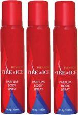 Revlon Fire & Ice Body Spray combo(Pack of 3) Deodorant Spray -For Women (300ml)