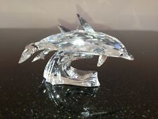 "Swarovski Dolphins,SCS,""Lead Me"" Annual Edition retired 1990 , New"