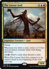 THE LOCUST GOD Hour of Devastation MTG Gold Creature — God Mythic