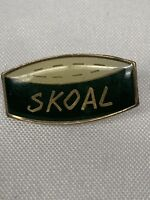Vintage Skoal Can Pinback Pin New Old Stock