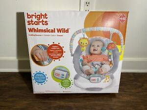 Bright Starts Cradling Bouncer - Whimsical Wild  H-82