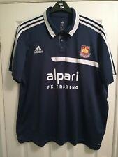 West Ham United 2XL 2013 2014 Adidas Polo Shirt alpari FX trading Hammers