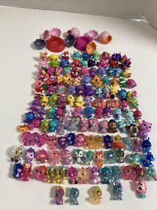 Large Lot of  Hatchimals And other Animal Figures, Nests