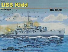 USS Kidd On Deck Squadron / Signal 26010