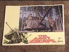 LAST ESCAPE 1970 LOBBY CARD #4 ARMORED TANK