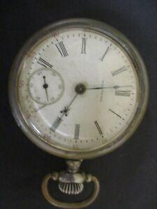 Vintage 1904 Waltham Model 1883 18S 17j Pocket Watch P S Bartlett Silveroid