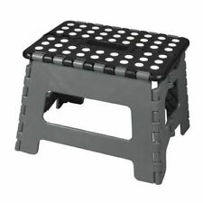 Multi Purpose Plastic Folding Step Stool Home Kitchen Easy Storage Foldable Seat