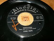 LYNN HOPE - TEMPTATION - THE SCRUNCH  / LISTEN - RNB JAZZ POPCORN