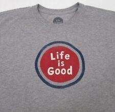 Men's Life is Good T Shirt  Large