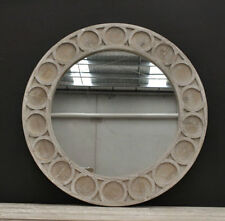 Timber Wall-Mounted Round Decorative Mirrors