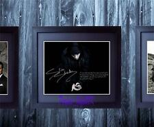 Eminem Slim Shady 8 Mile SIGNED AUTOGRAPHED FRAMED 10x8 REPRO PHOTO PRINT