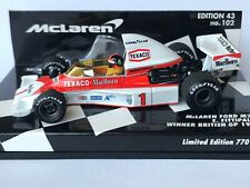 """Minichamps 530 754301 McLaren Ford M23 E.Fittipaldi """"Full Livery"""" F1 1975 1:43"""