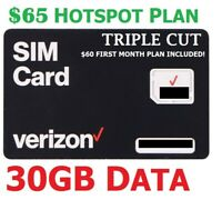 Verizon Wireless Unlimited Plan for Hotspot & Jetpacks with $70 Plan 30GB LTE