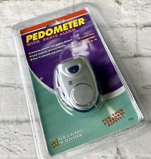 Oregon Scientific PE319 Pedometer With Panic Alarm New Sealed