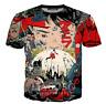 Cartoon Anime Akira 3D print Casual T Shirt Fashion Men Women Short Sleeve Top