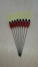 8 x Assorted High Quality Pole Fishing Floats Pack 341Y8