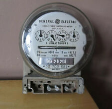 General Electric Single Phase Watthour Metertype I 50 Amodel Ar272