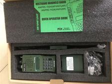 US STOCK 10W TRI AN/PRC-152 Multiband Radio MBITR Aluminum Shell Walkie Talkie