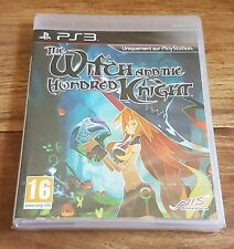THE WITCH AND THE HUNDRED KNIGHT Jeu Sony PS3 Playstation 3 Neuf Blister VF