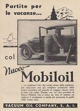Z5400 Partite per le vacanze con il MOBILOIL - Pubblicità d'epoca - 1933 old ad