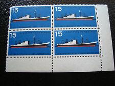 GERMANIA (rfg) - francobollo - yvert e tellier n° 136 x4 n (A5) stamp germany