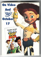 old TOY STORY 2 premium promotional advertising pin