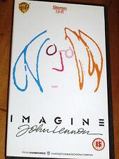 BEATLES / JOHN LENNON - IMAGINE - VHS TAPE 1988 EXC