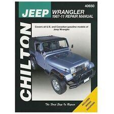 1987-2011 Chilton Jeep Wrangler Repair Manual