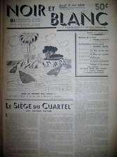 MISTINGUETT L'AMOUR ET LES ETOILES DESSINS DUBOUT EFFEL NOIR ET BLANC N° 4-1934