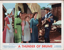 A THUNDER OF DRUMS original 1961 MGM 11x14 lobby card movie poster DUANE EDDY