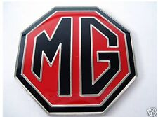 NEW Enamel Red and Black MG BADGE MGB ZR ZS ZT 39mm