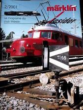 Marklin Insider Le magazine du Club Marklin n°2/2001 - Tr.21