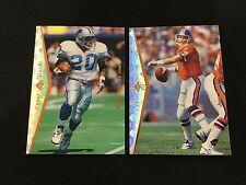 JOHN ELWAY & BARRY SANDERS 1995 SP FOOTBALL CARDS