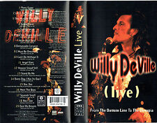 [VHS] Willy DeVille – (Live) - From The Bottom Line To The Olympia