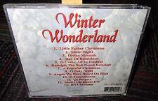 WINTER WONDERLAND MUSIC CD, 1996 RETRO, SILENT NIGHT, RUDOLPH, O HOLY NIGHT, GUC