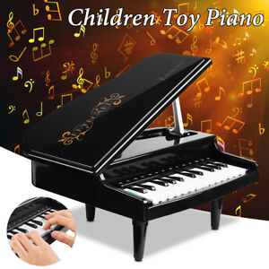 24Keys Toy Piano Music Instrument Sound Light Player Educational Children