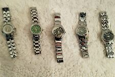 NEW! Wholesale Mixed Lot of 5 Sterling Silver Geneva Ladies Womans Watches