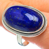 Large Lapis Lazuli 925 Sterling Silver Ring Size 13 Ana Co Jewelry R47123F