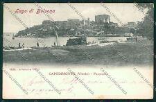 Viterbo Capodimonte Lago Bolsena Alterocca 1535 cartolina QK4375