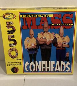 "CONEHEADS Puzzle 550 Pieces 18"" X 24"" Ceaco 1993 SNL Pop Culture"