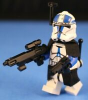 LEGO® Star Wars™ 75002 Custom 501st BLUE CLONE TROOPER Phase 2 +Blasters & More
