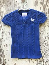 Creative Knitwear~United States Air Force Sweater Dress Girl Sz 0-3 Months