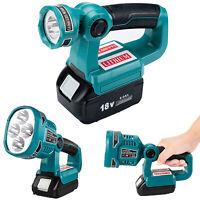 Für Makita 14.4V-20V Li-ion Batterie BL1830 BL1860 USB Ports 4 LED Lichts Lampe